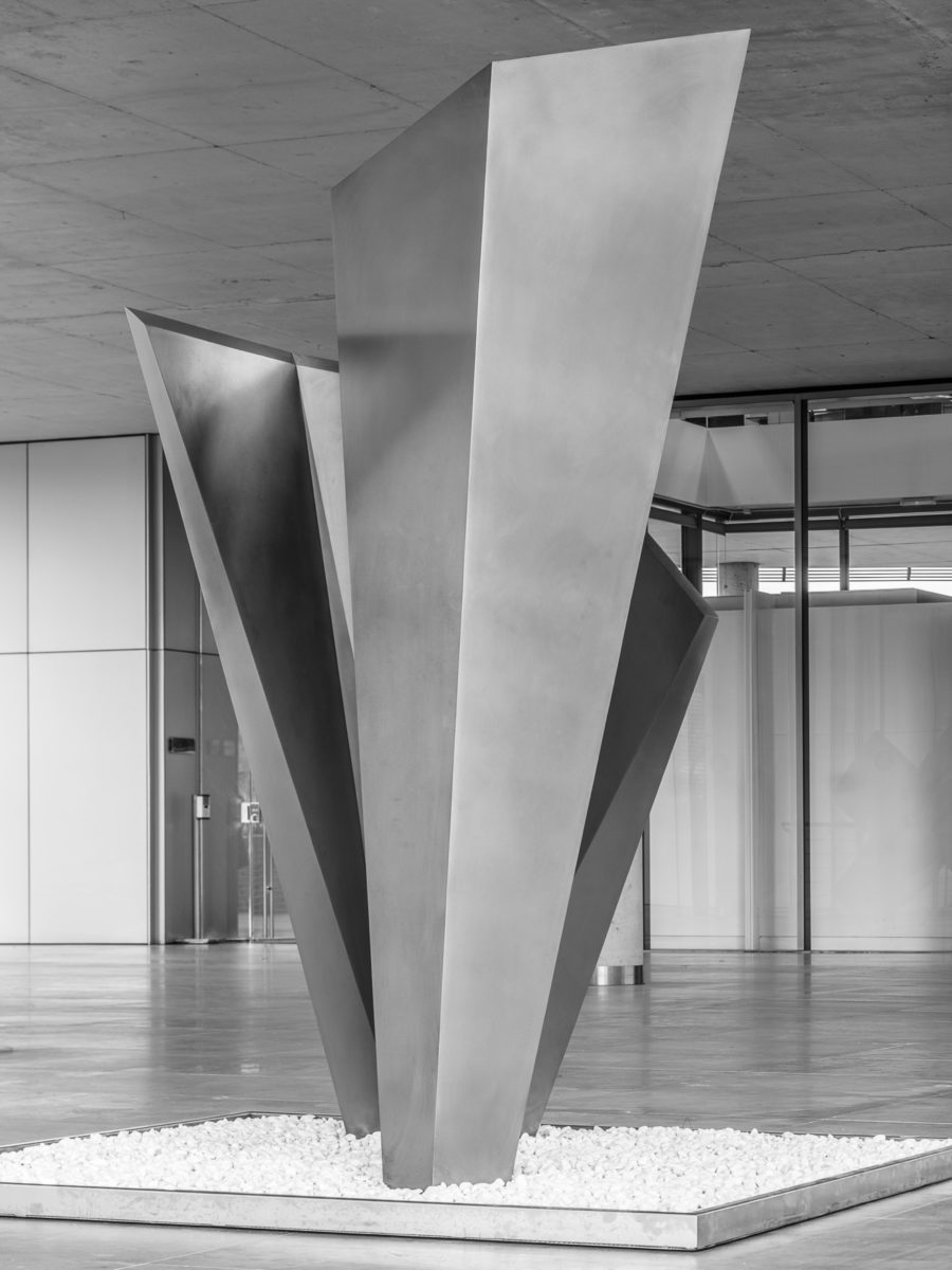 Stainless steel work by Arturo Berned