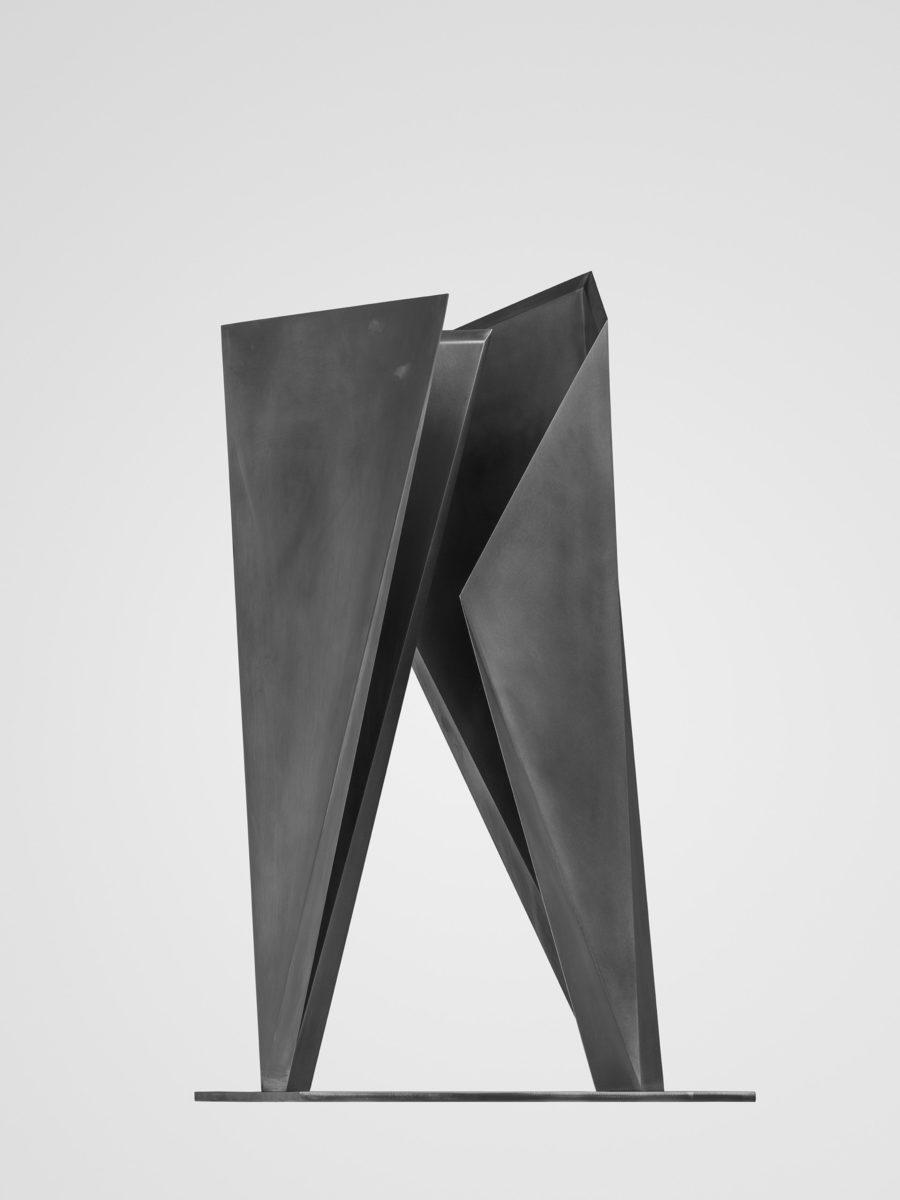 Commemorative sculpture of the dual year Spain Japan