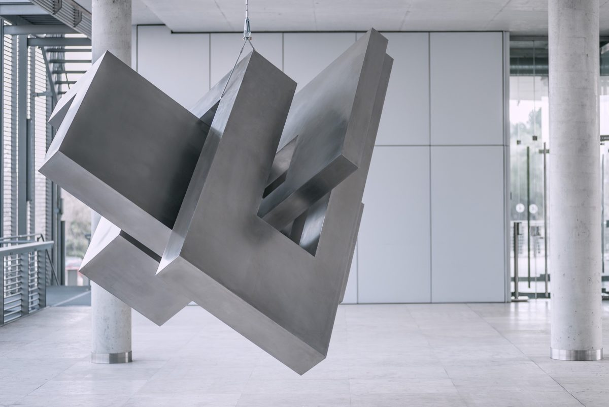 Stainless steel head by Arturo Berned