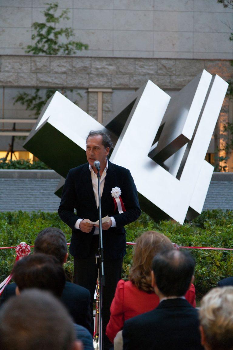 Arturo Berned en el discurso de clausura del Año Dual