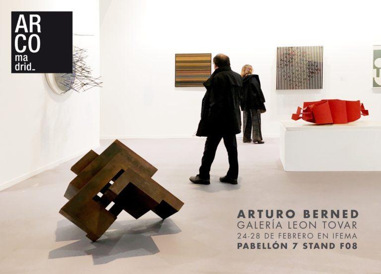 Arturo Berned en ARCO Madrid, en la Galería Leon Tovar de Nueva York