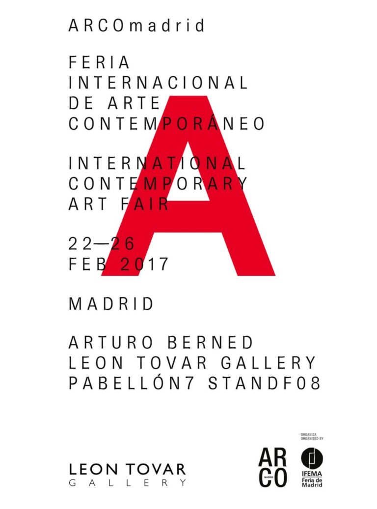 Arturo Berned en ARCO Madrid 2017