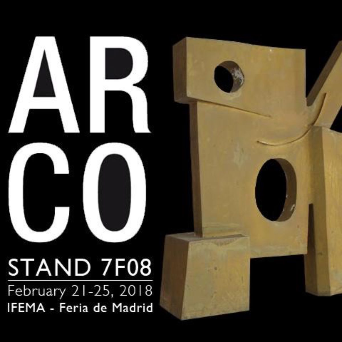 Cartel ARCO Madrid 2018