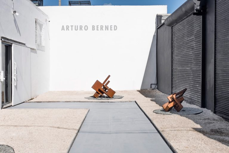 Arturo Berned's work exhibited at the Summer Gallery Miami