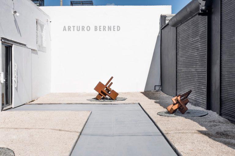 Obras de Artuto Berned expuestas en la Sammer Gallery Miami