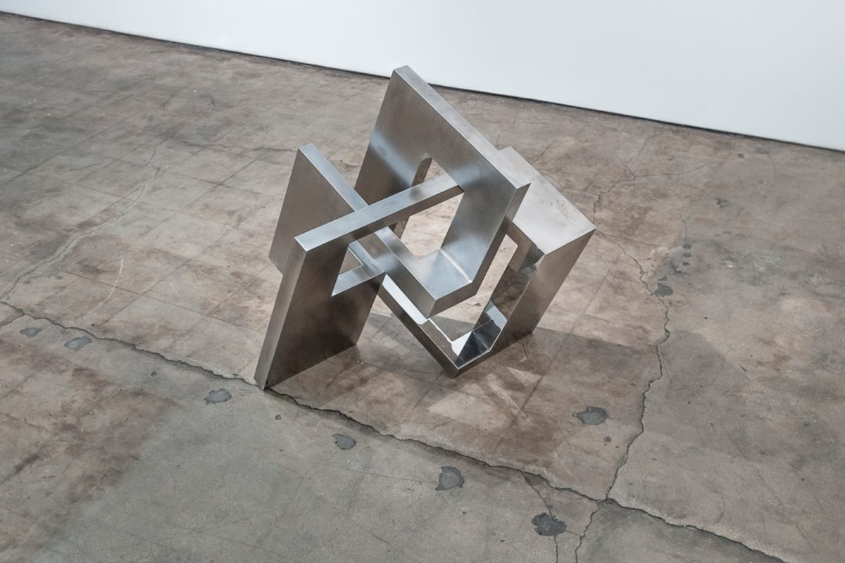 Photo of one of the works of the exhibition at Sammer Gallery Miami