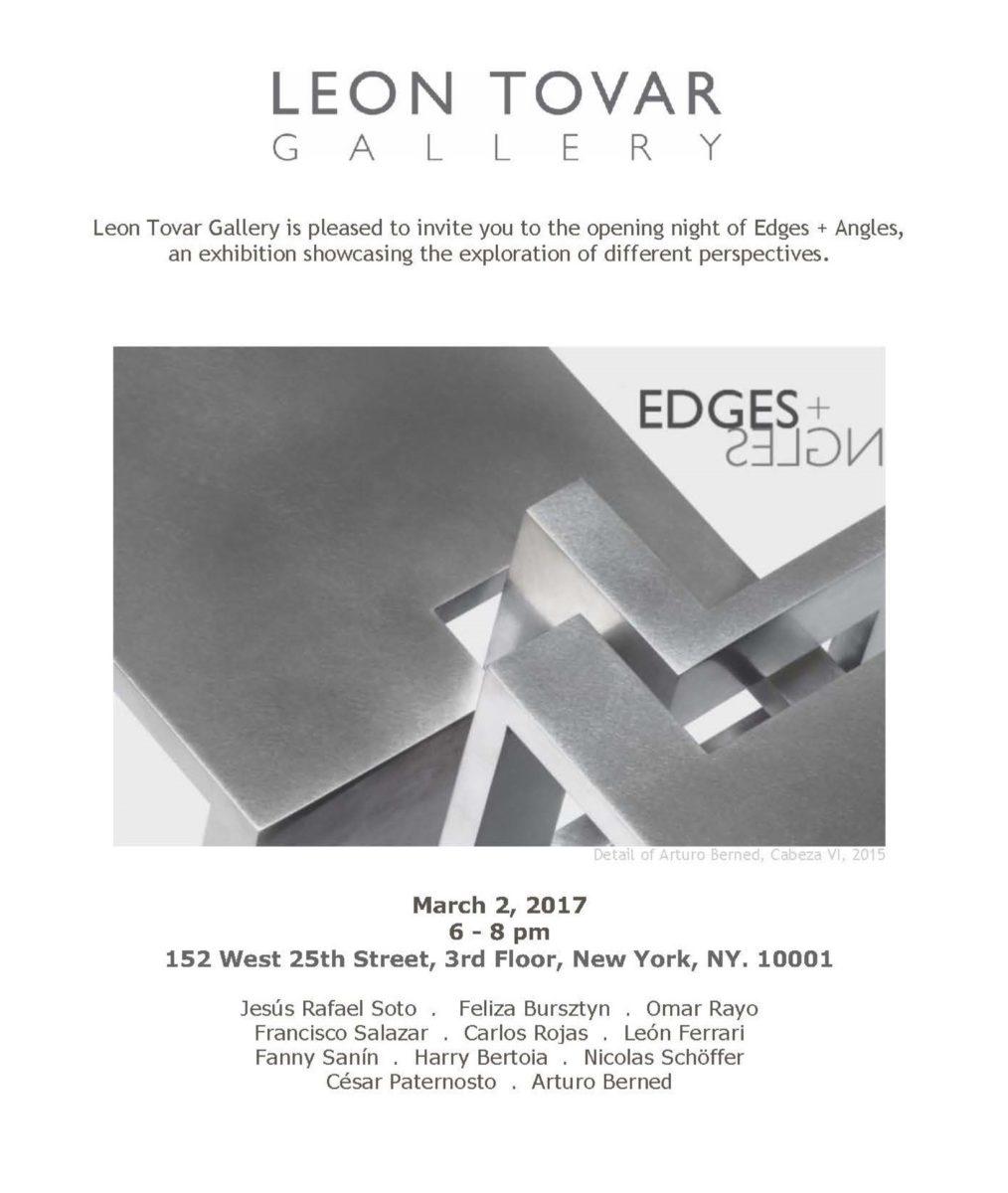 Exposición de Arturo Berned en la Galería Leon Tovar de Nueva York