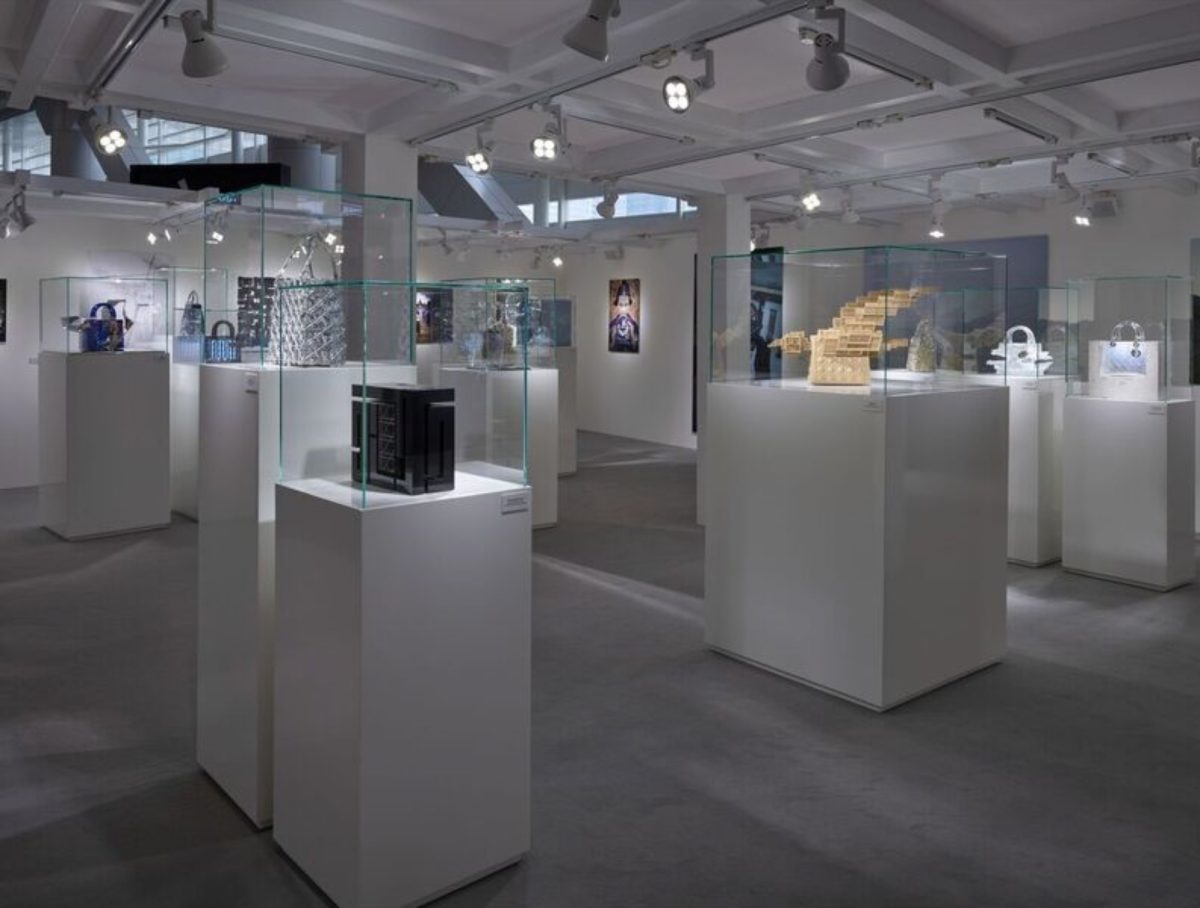"Arturo Berned exhibition at Hong Kong Art Basel as part of the ""Lady Dior as seen by"""