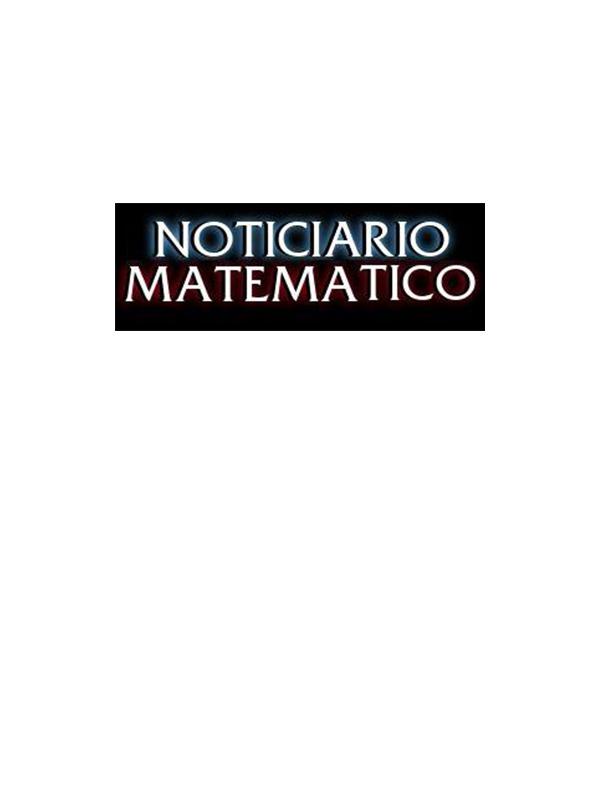 Noticiario Matemático