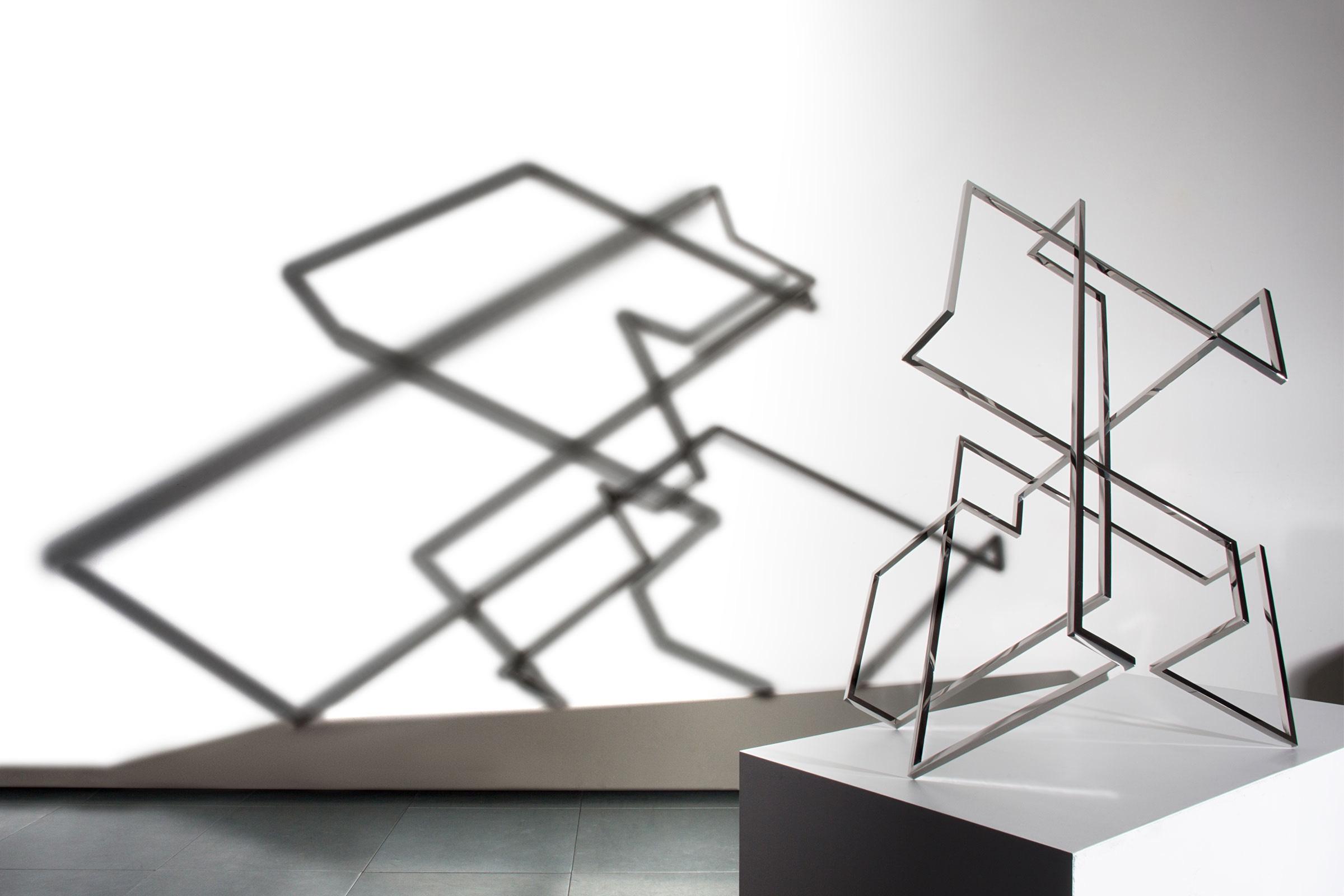 Arturo Berned's sculpture
